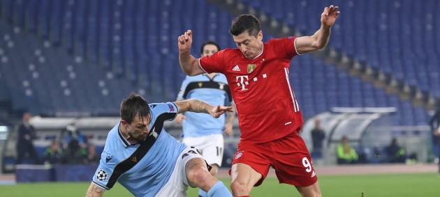 Бавария одержала крупную гостевую победу над Лацио