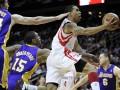 NBA: Лейкерс проиграли в Хьюстоне, Майами и Нью-Йорк побеждают дома