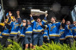 Хоккеисты Сент-Луиса получили перстни в честь чемпионства