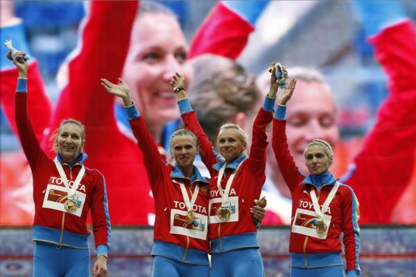 Женская эстафетная сборная России вызвала скандал