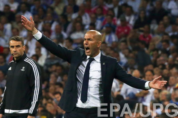 Зидан продолжит работать в Реале