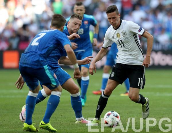 Дракслер - игрок матча Германия - Словакия