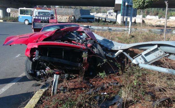 Милевский разбил свой Ferrari