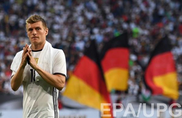 Тони Кроос признан лучшим игроком матча Германия – Украина