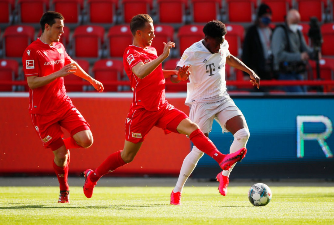 Унион - Бавария: видео голов и обзор матча