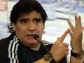Диего Марадона нанес пощечину журналисту (видео)