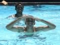 Водные процедуры. Как футболисты Шахтера в бассейне резвились (ФОТО)