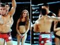 Расстроенный поражением боец ММА ударил ринг-герл