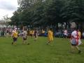 Фанаты сборной Украины и Северной Ирландии сыграли в футбол в парке Лиона