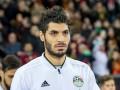 Защитник сборной Египта получил травму лица во время тренировки