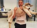 Ракицкий показал своего домашнего зверя