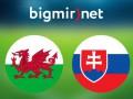 Уэльс - Словакия 2:1 Трансляция матча Евро-2016