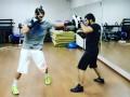 Легионер Динамо попробовал свои силы в боксе