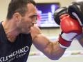 Кличко начал подготовку к бою с Фьюри
