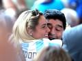 Марадона сделал предложение своей молодой возлюбленной