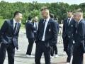 Сборная Украины прибыла в Бухарест