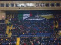 На матче Шахтер - Аталанта фанаты вывесили баннер в поддержку нацгвардейца Маркива
