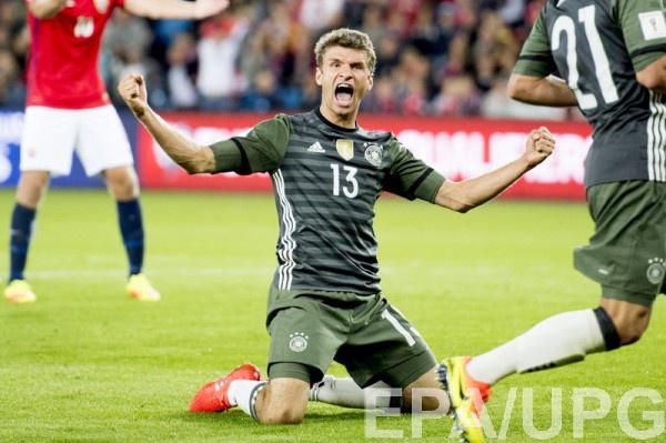 Мюллер поучаствовал во всех голах Германии