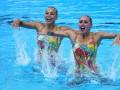 Украинские синхронистки завоевали семь медалей на этапе Мировой серии