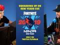 Неймар в новогоднюю ночь сыграл в Fortnite с самым популярным стримером мира