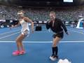 Видео зажигательного танца теннисисток, которые выиграли Australian Open