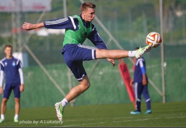 Тренировка киевского Динамо в Испании