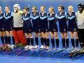 Женская сборная Украины по индорхоккею уступила Германии на чемпионате мира