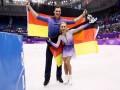 Украинская фигуристка Савченко выиграла золото Олимпиады, российская пара осталась без медали