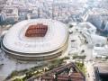 Барселона представила обновленный проект Камп Ноу