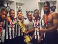 Вкус победы: Как игроки Ювентуса праздновали завоевание Кубка Италии