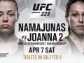 Реванш между Енджейчик и Намаюнас состоится в андеркарте UFC 223