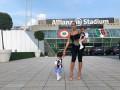Невеста Роналду привела на стадион близнецов и он оформил дубль