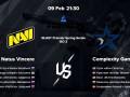 Complexity Gaming - NaVi: прогноз на финал группы В на BLAST Premier Spring Series