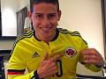 Супергол Хамеса Родригеса в раздевалке сборной Колумбии