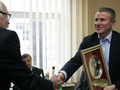 Бубка встретился с руководителями Федерации регби Украины