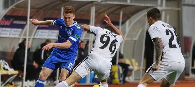 Динамо и Заря не определили победителя