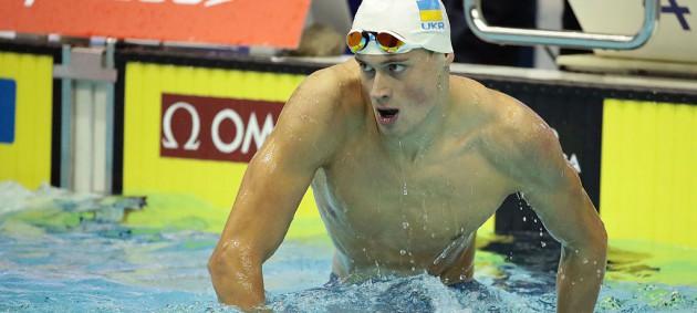 Плавание: Романчук с рекордом Украины завоевал золото чемпионата Европы
