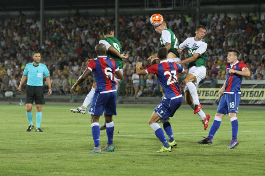 Александрия в первом матче с Хайдуком