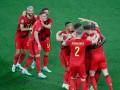 Бельгия разгромила Россию
