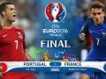 Португалия - Франция: Где смотреть матч финала Евро-2016