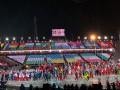 Украинские спортсмены прошли на церемонии закрытия Олимпиады-2018