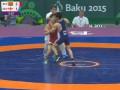 Белорусcкий и грузинский борцы устроили драку на Европейских играх