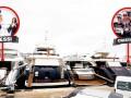 Месси и Роналду бросили якоря в 20 метрах друг от друга