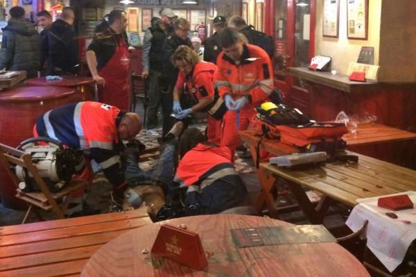 Футбольный болельщик получил ножевые ранения встычке фанатов «Ювентуса» и«Севильи»