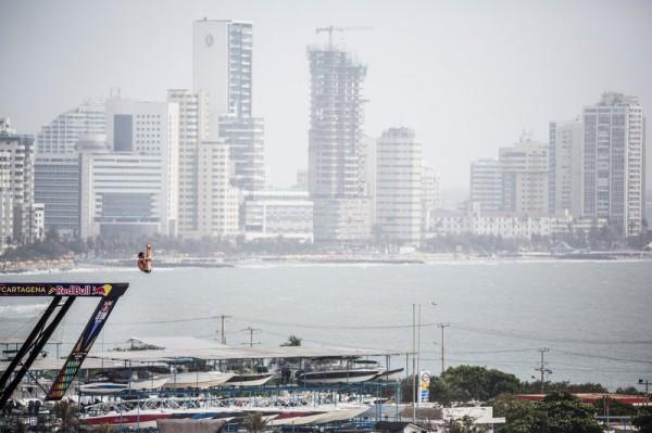 Red Bull Cfiff Diving в Картахене