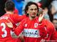 Тунджай Шанли празднует гол в ворота Халл Сити