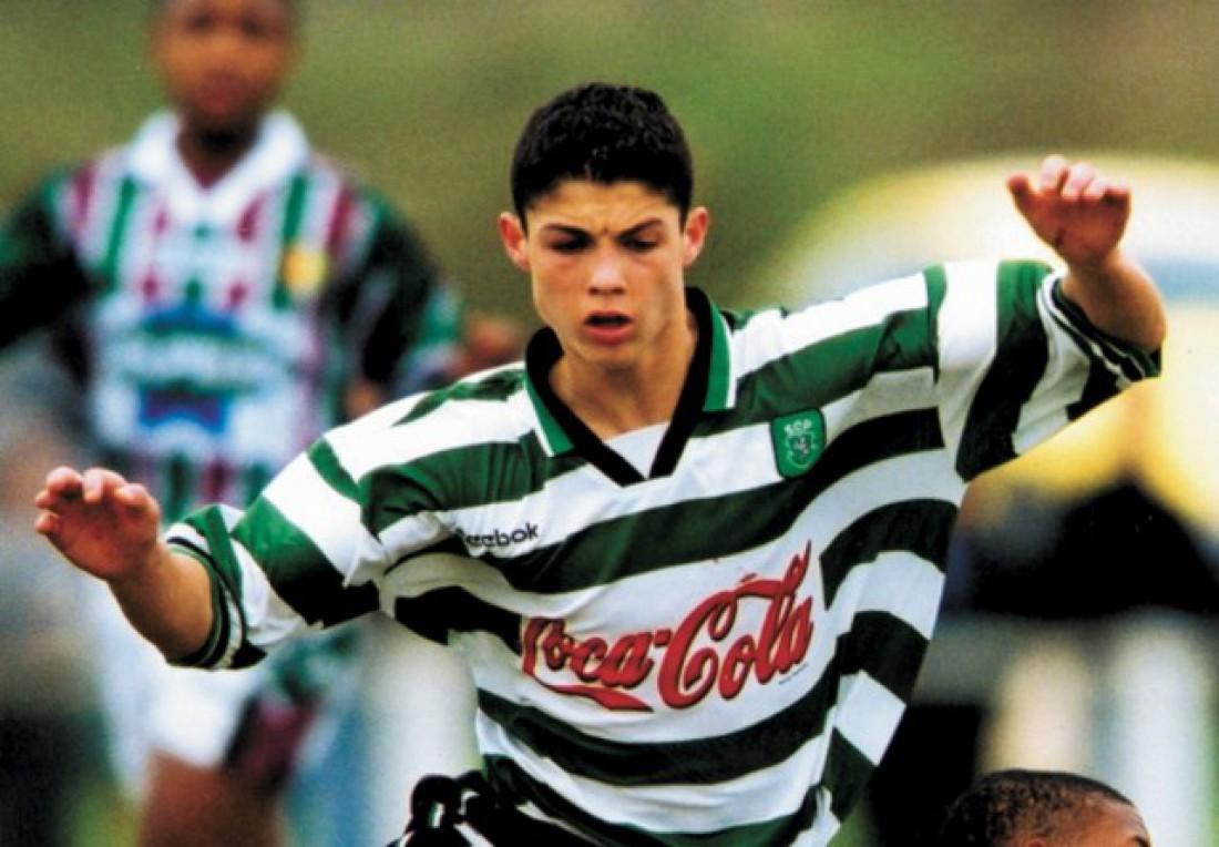 Роналду в составе Спортинга