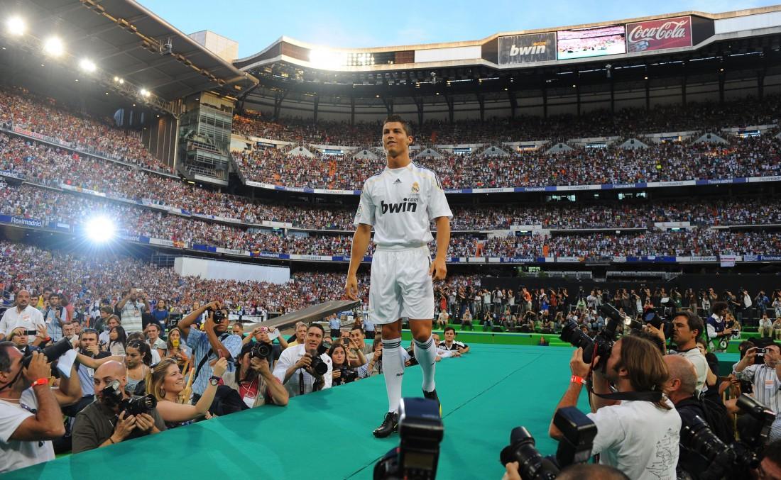 Роналду стал игроком Реала