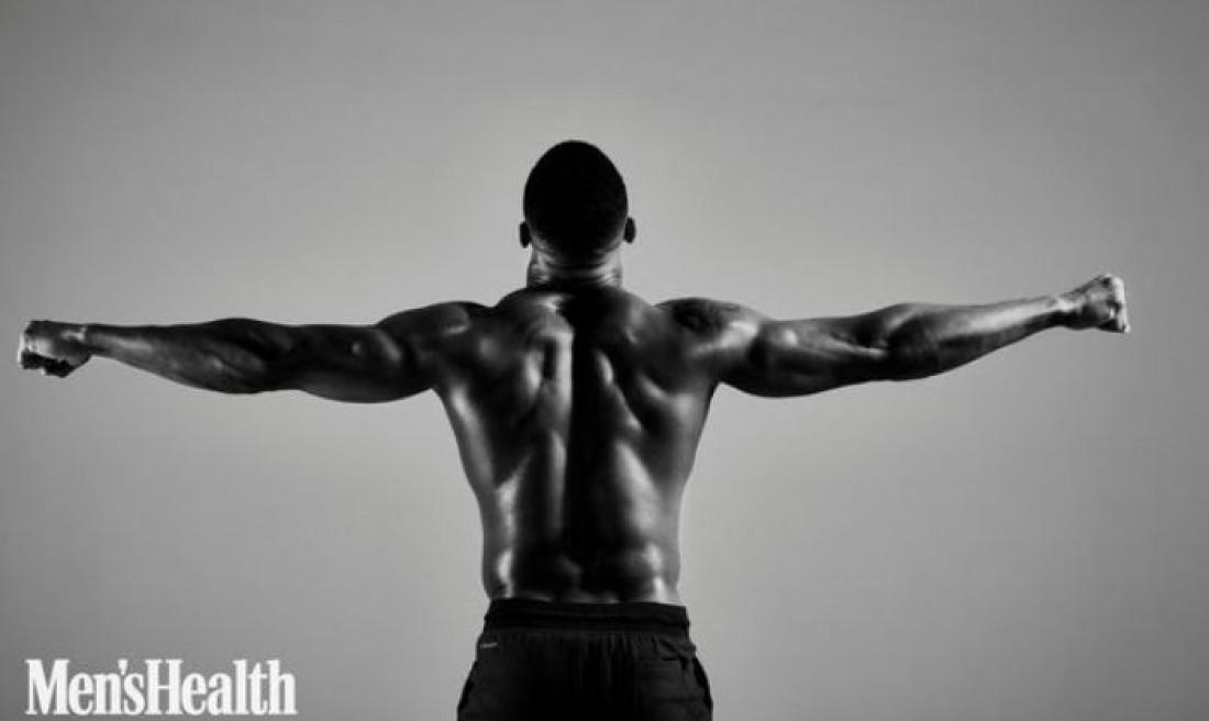 Энтони Джошуа в фотосессии для жунала Men's Health