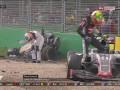 Формула-1: Видео страшной аварии Алонсо на Гран-при Австралии
